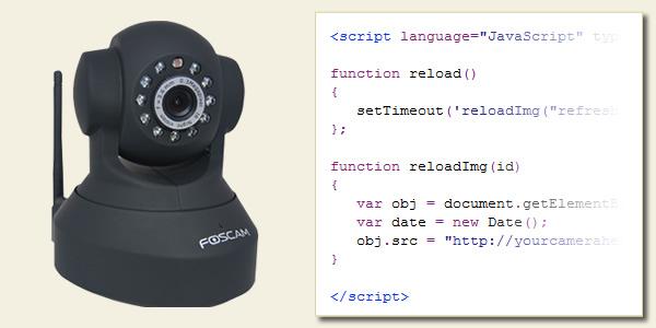 Foscam Camera Embed Video